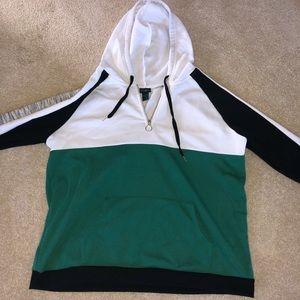 Good Used condition Rue 21 + sweatshirt 2X